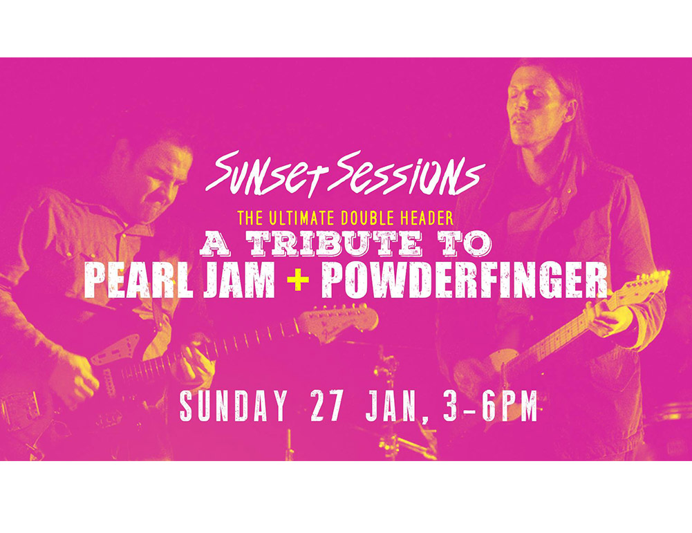 A TRIBUTE TO PEARL JAM AND POWDERFINGER - Shelly Beach Golf Club